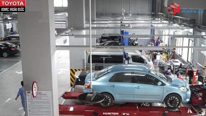 sửa chữa và bảo dưỡng tại Toyota Hoài Đức