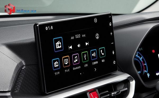Màn hình DVD của Toyota Raize 2021