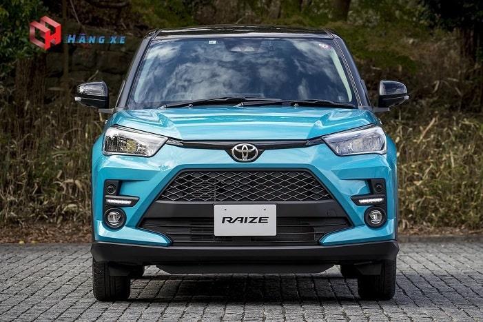 Đầu xe Toyota Raize 2021 nhập khẩu