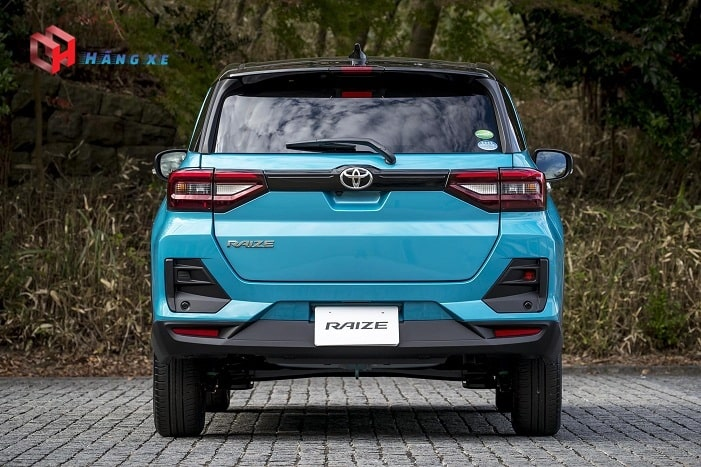 Ngoại thất đuôi xe Toyota Raize 2021