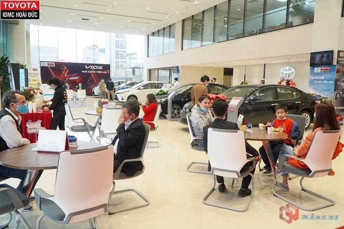 Showroom Toyota Hoài Đức